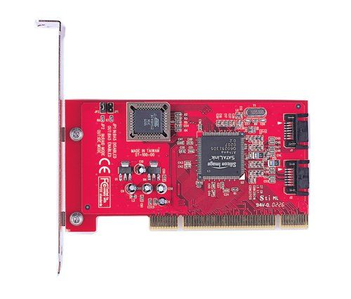 ST-102  RAID Low Profile SATA 2 Port PCI Host  Only $29.89  at USBGear.com