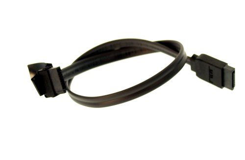 12-Inch Serial ATA Signal Cable UltraFlex Black One Side Right Angle Only $1.89  at USBGear.com