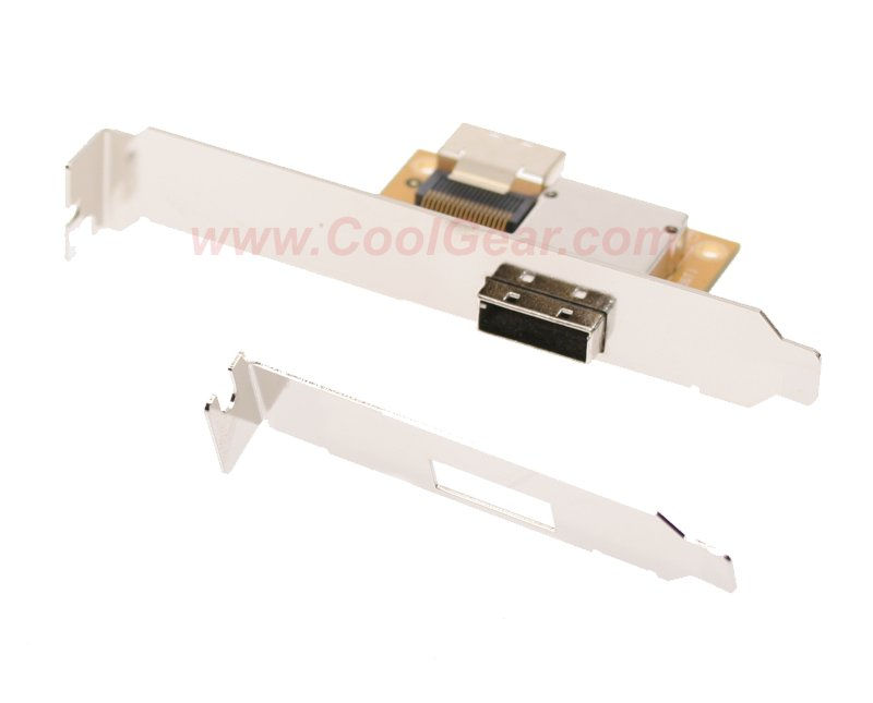 Mini SAS Host PCI Adapter Bracket SFF-8087-SFF-8088 36H-26T - Image A