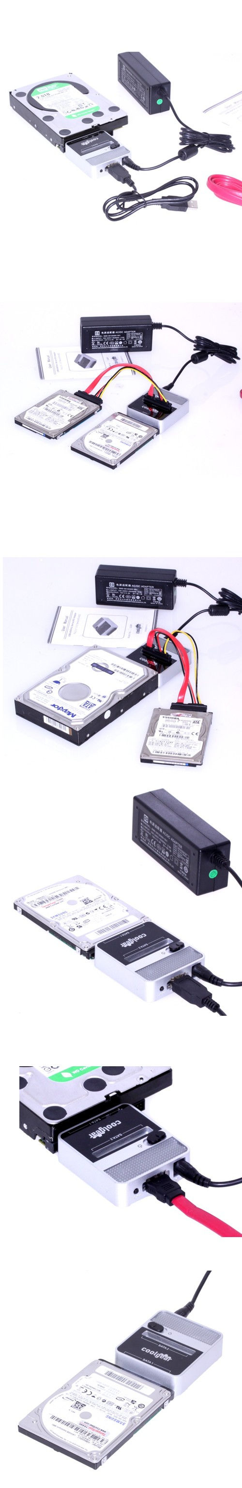 SATA Drive Cloning Hardware Solution, Simple and Fast SATA to SATA HDD/SSD Sector Copy Device - Image B