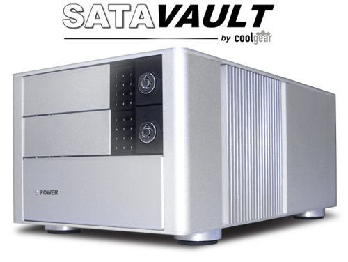 Ultra Fast Dual Drive SATA II to eSATA HDD Enclosure Removable Rack