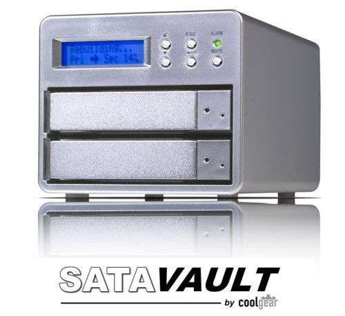 USB 2.0 + eSATA to DUAL REMOVABLE SATA 3.5 Hard Drive RAID 1 Mirror Hardware System Only $329.98  at USBGear.com