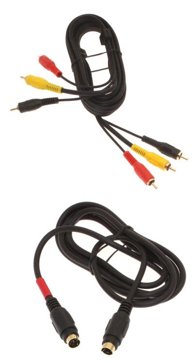 12ft. S-Video RCA and Composite Cable Kit for USB Video Capture Adapters Only $5.98  at USBGear.com