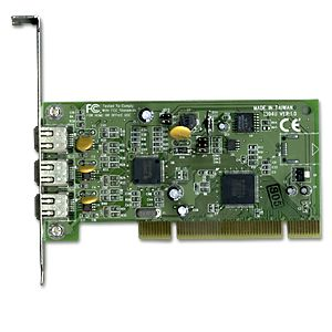 PCI to IEEE 1394 (FireWire) Card w/Texas Instruments Chipset  Only $124.98  at USBGear.com
