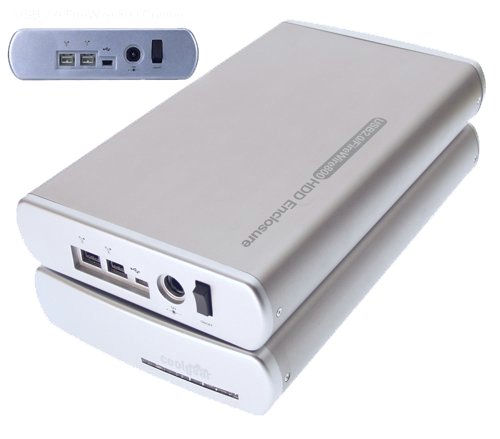 160GB COMBO USB 2.0 and FireWire DV-Rated 7200RPM Drive - Image B