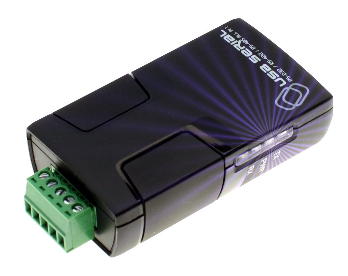 Pro Grade FTDI USB to RS-232 / RS-422 / RS-485 Adapter Selectable via Software - Image A
