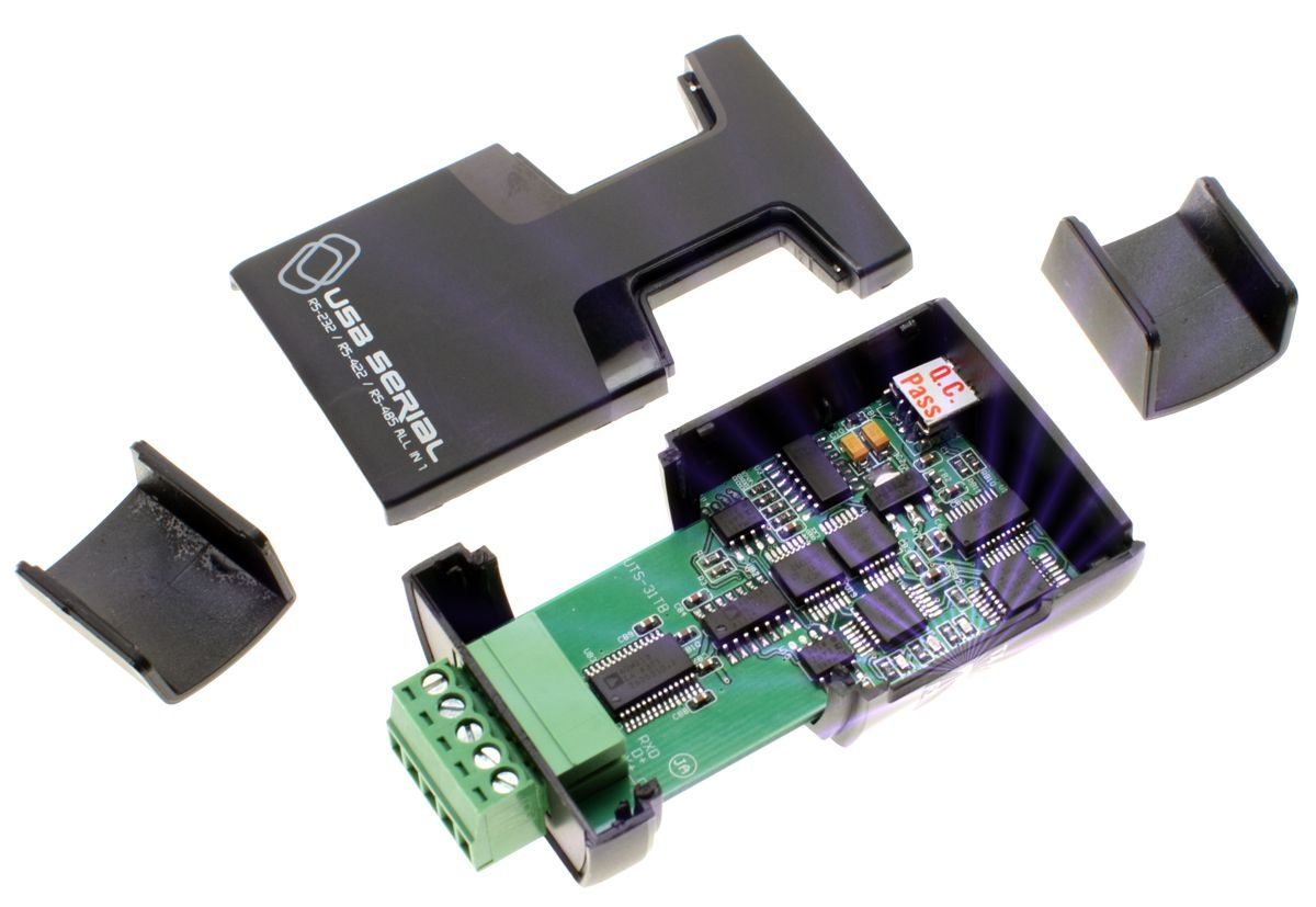 Pro Grade FTDI USB to RS-232 / RS-422 / RS-485 Adapter Selectable via Software - Image B