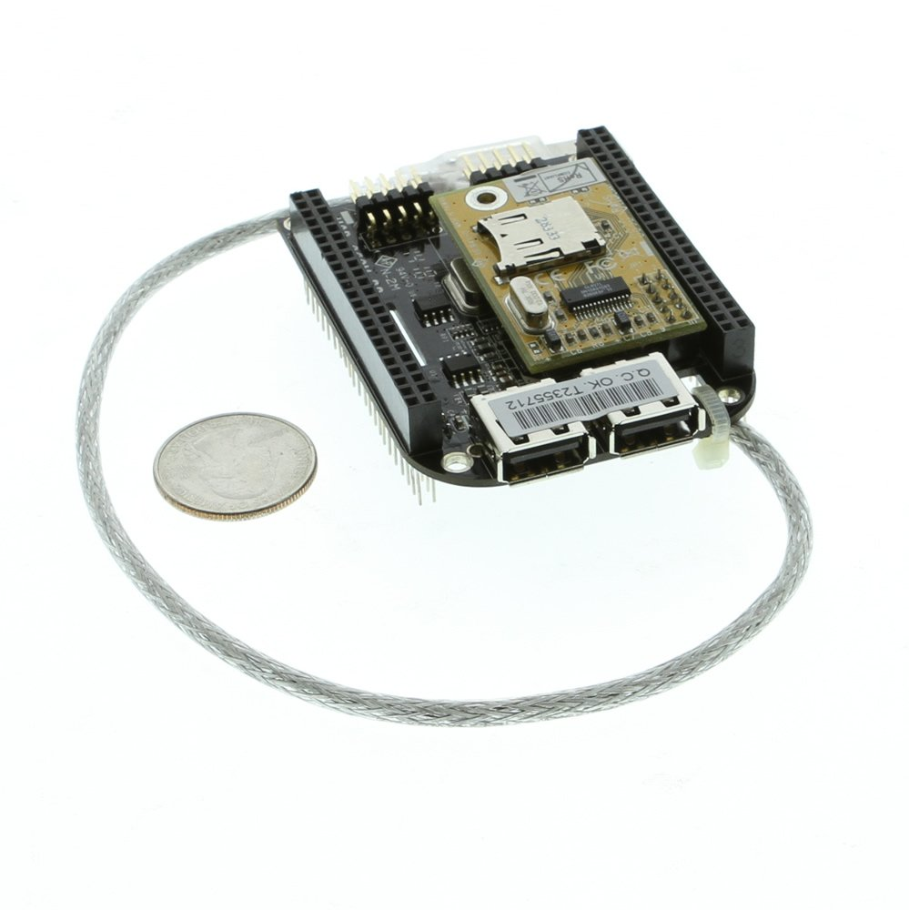 BeagleBone Black USB Expansion RS232 Module Cape - Image C