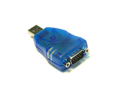 USB to Serial RS232 Adapter DB9 Male for Windows 10, 8, 7 - Image A