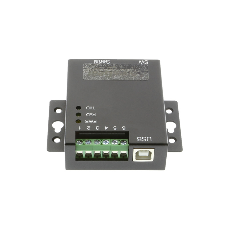 1-Port USB to RS-232 Selectable RS-422 or RS-485 Industrial Adapter - Image B