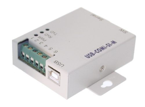 USB-COMi-SI-M USB-to-Optical isolated RS-422/485 Industrial Adapter - Image A