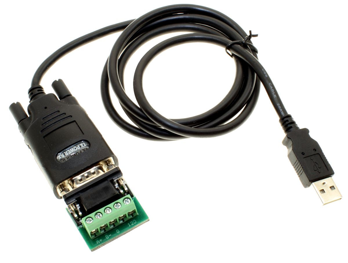USB to RS-485 Adapter W/Terminal Block Changer FTDI chip inside - Image A