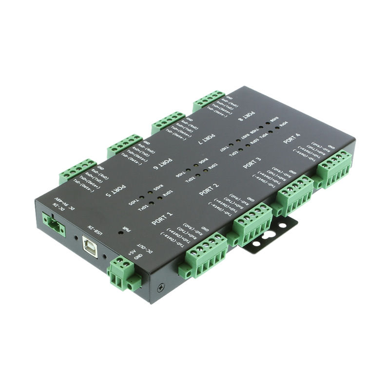 USB2 to 8-Port RS232-422-485 Serial TB Adapter Only $239.95  at USBGear.com
