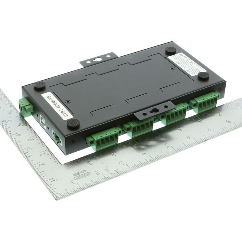 USB2 to 8-Port RS232-422-485 Serial TB Adapter - Image C