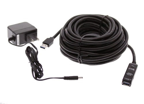 Powered Usb Extension Cable : Usb extension cable ft a male to female with