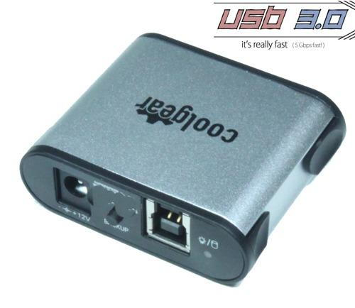 USB 3.0 to SATA Hard Drive Adapter for 2.5/3.5/SSD Drives - Image C