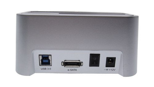 USB 3.0 SATA Hard Drive Adapter Dock Universal 2.5/3.5/ Drives - Image C