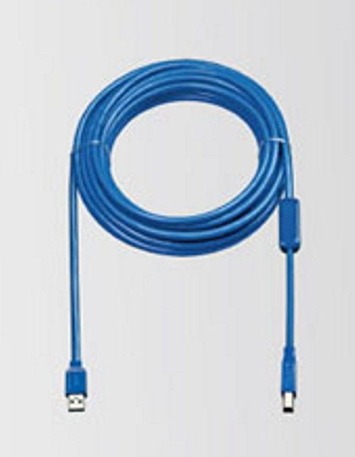 Long Distance A to B USB 3.0 device cable 32ft. (7-Meter) A-Male to B-Male  - Image C