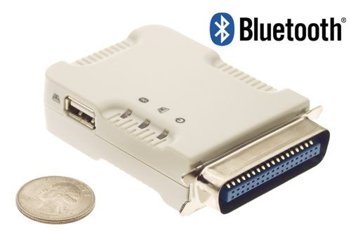 COMBO Bluetooth Printer Adapter for USB or Centronics Printers Class 1 (100M) Only $97.98  at USBGear.com