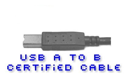 USB 2.0 Device Cable (A-B) 15ft. - Image A