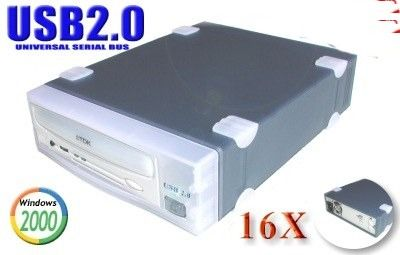 USB 2.0 16x10x40 CD-RW Drive for MAC and Windows Only $139.50  at USBGear.com