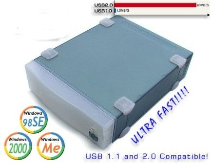 USB 2.0  80GB Full Speed Drive ULTRA FAST