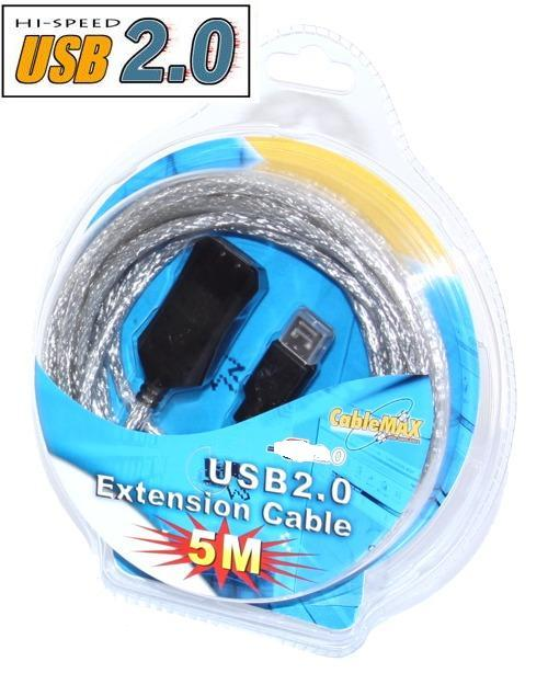 USB 2.0 High-Speed Active USB Extension Cable 16ft. - Image C