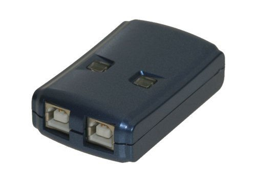 2-Port A/B manual and HOT KEY Mini switch for two computers - Image A