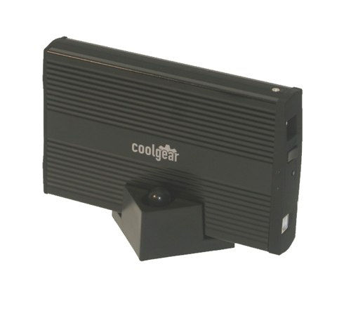 NEW CoolGear LapDRIVE 3.5 IDE External Hard Drive Enclosure with BACK-UP for Windows XP - Image A