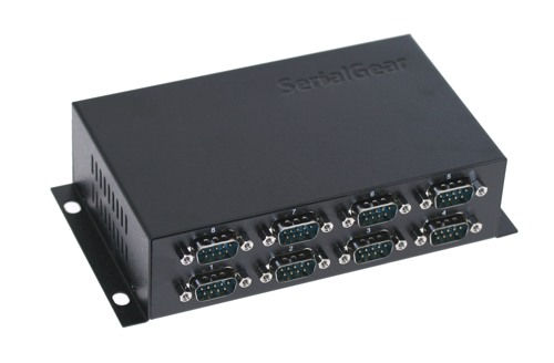 Industrial 8-Port DB-9 RS232 to USB Adapter High-Speed FTDI Chip 921.6Kbps - Image A