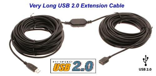 65ft. USB Extension Cable USB Active Extension Cable/Booster Cable USB 2.0 Only $88.89  at USBGear.com