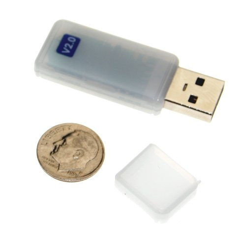 Version 2.0 Bluetooth Wireless USB Networking Dongle Class 1 (480ft) - Image A