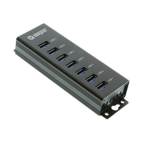 7-Port USB 3.0 Charging and SuperSpeed Mountable Data Hub - Image A