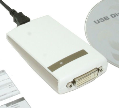 HD 1680 X 1050 DVI USB 2.0 External Graphics Card for XP and Vista and Windows 7 Only $54.98  at USBGear.com