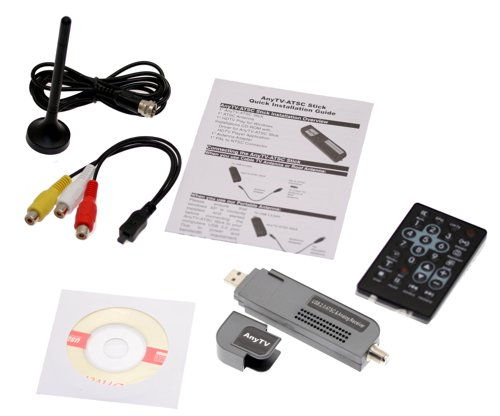 USB 2.0 Digital TV Receiver & Recorder HDTV NTSC ATSC QAM for Vista and XP!  - Image C