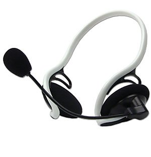 USBGear USB Digital Headset with Microphone  - Image A