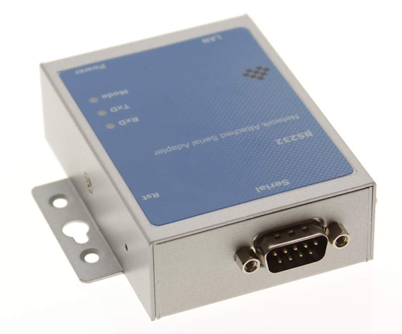Industrial 1 Port RS-232 DB9 Serial over Network Device Server - Image B