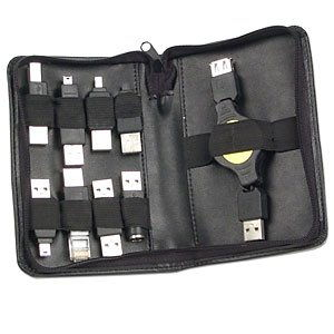 9-Piece USB Adapters Kit with Vinyl Case - Image A