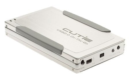 USB on the GO Mini 2.5 inch Aluminum Drive Enclosure with Li-ion Battery - Image A