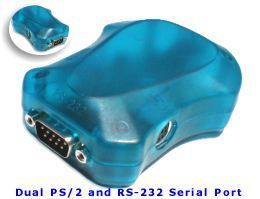 Dual Port USB to PS/2 and Single RS-232 Serial for Windows 98/ME/2000 and XP Only $18.98  at USBGear.com