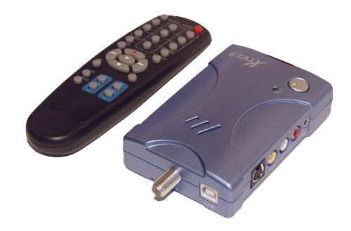 USB 2.0 TV Tuner Box and Video Capture Adapter for Windows 2000 and XP Only $79.98  at USBGear.com