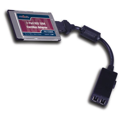 2- Port CARDBUS PCMCIA 1394-FireWire Adapter Dongle Only $39.50  at USBGear.com