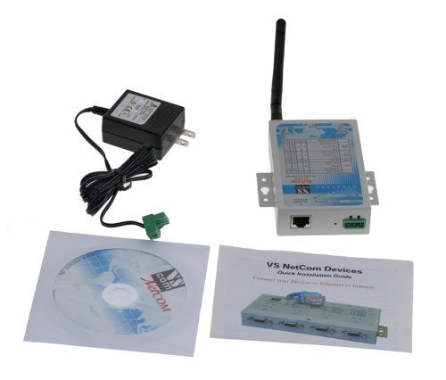 WiFi server - Ethernet / Serial 1 port Serial RS232 / RS422 / RS485 - Image C