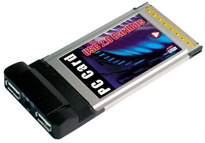 USB 2.0 High-Speed   PCMCIA Card Bus 32 Adapter for Laptops - Image A