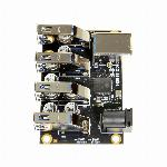 USB 3.1 4 Port Mini Hub Component Board with ESD & Surge Protection