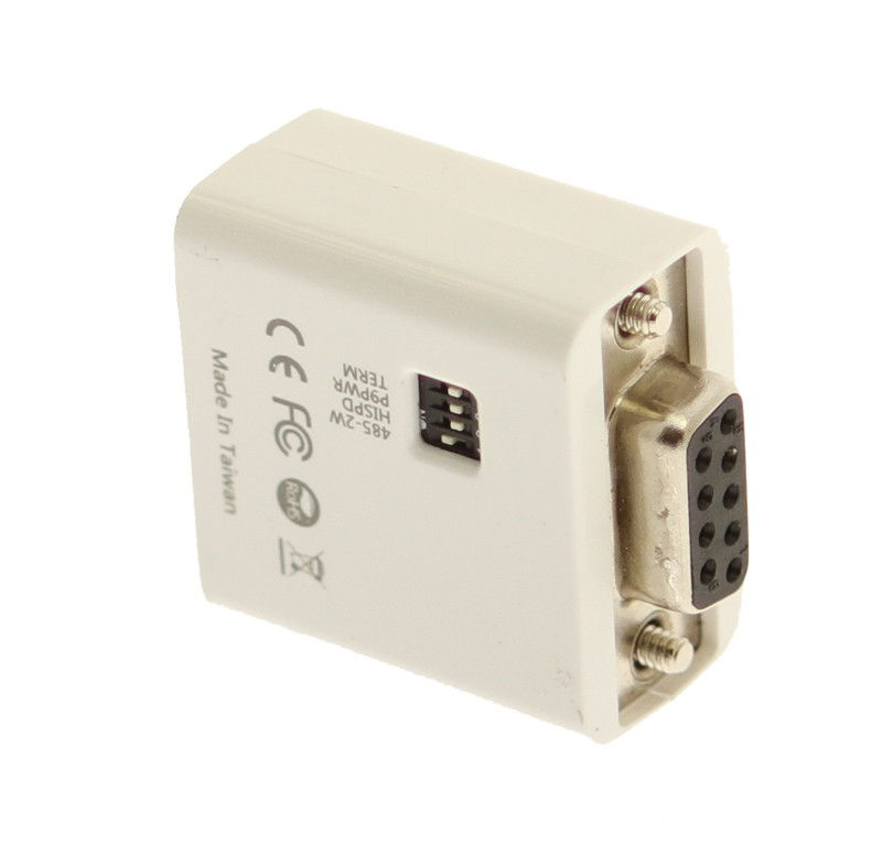 Micro Active Serial Adapter RS-232 to RS-422/485 Supports 2 or 4 Wire RS485 Modes  - Image B