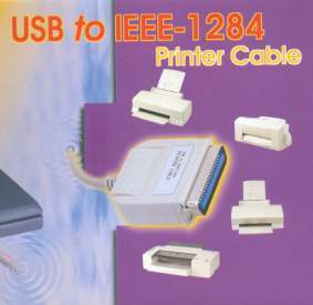 USB to Printer Converter by CableMAX  I-EEE  Only $29.90  at USBGear.com