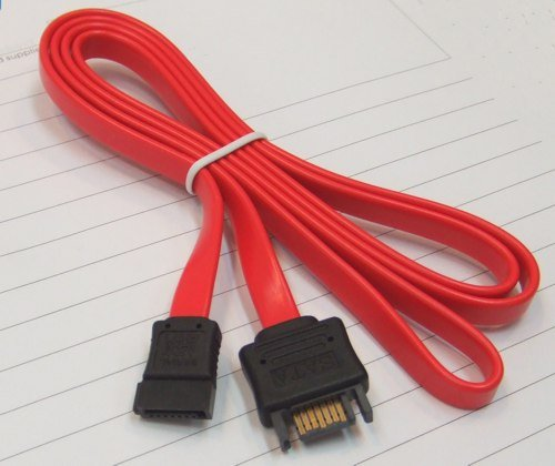 SATA Cable Extension SATA 7-Pin Signal Cable Extender 30 cm - Image A