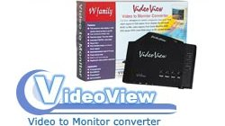 Video View , S-Video and Cmposite Video to PC SVGA-HD-15 converter - Image A