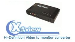 X@View Hi-Definition Video to monitor converter - Image A